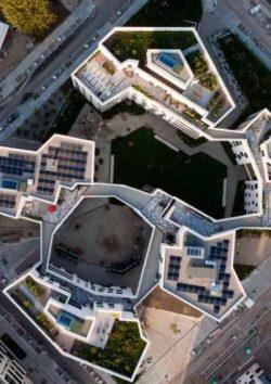 München - Mieterstromanlage versorgt Bewohner des neuen Genossenschaftsbaus wagnisART mit Solarstrom