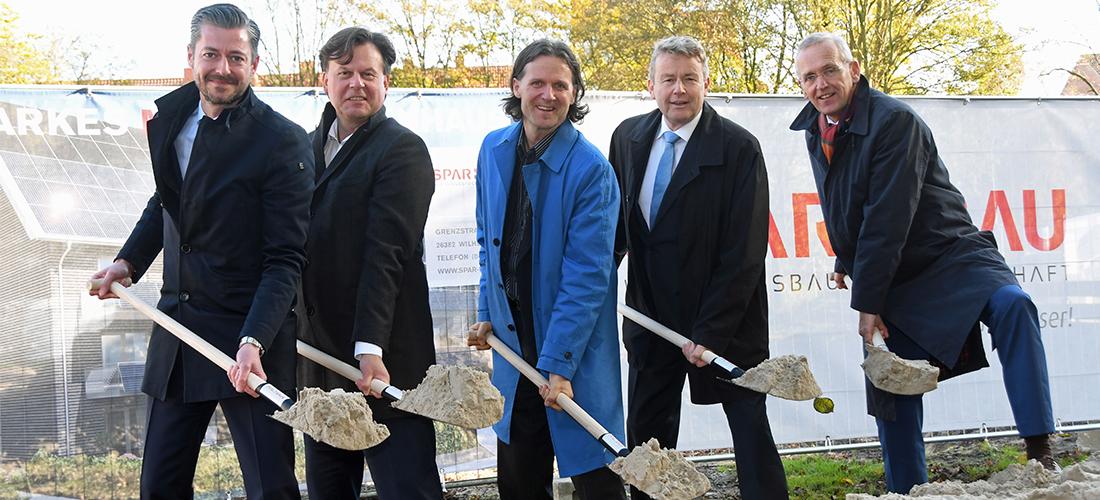 Wilhelmshavener Spar- und Baugesellschaft eG baut erstes energieautarkes Mehrfamilienhaus